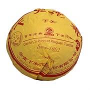 Сягуань шен пуэр 1902, 2010 г. 100 гр.