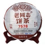 Хайвань Шу Пуэр 7578, 357 гр, 2018 г.