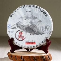 Памятный шен пуэр Эверест (сырьё из Иу) 2008 г. 357 гр. - фото 4778