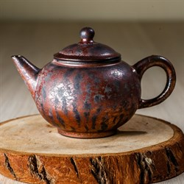 чайник #6, глина, Тайвань, 180 мл - фото 4831