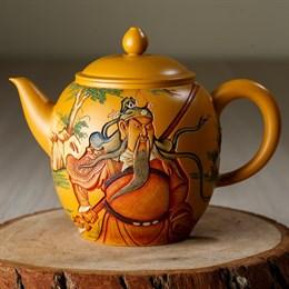 чайник #11 ручной работы,глина, Тайвань, 300 мл - фото 4836