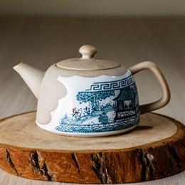 чайник #19, глина, 130 мл - фото 4879