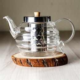 чайник #2, стекло, 1000 мл - фото 4897