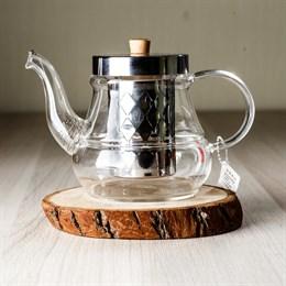 чайник #1, стекло, 700 мл - фото 4899