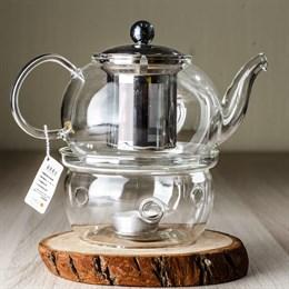 чайник #4, стекло, 800 мл - фото 4903