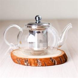 чайник #4, стекло, 800 мл - фото 5038