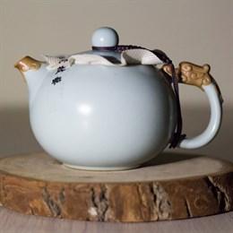 чайник #25, глина, 200 мл - фото 5299