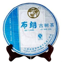 Шен Пуэр Чжи Син Булан Гу Шу, 2011 г. 357 гр. - фото 5560