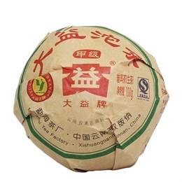 Да И Цзя Цзы шен пуэр 2009 г. 100 гр. - фото 5591