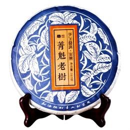 Буланшань шен пуэр 2017г (фермерский, ручное производство), 357 гр. - фото 5644