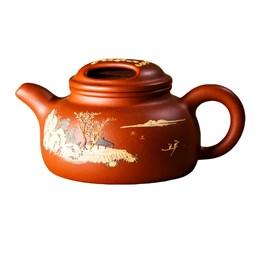 чайник #16, глина, 150 мл - фото 5674