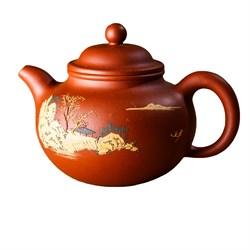 чайник #17, глина, 150 мл - фото 5675