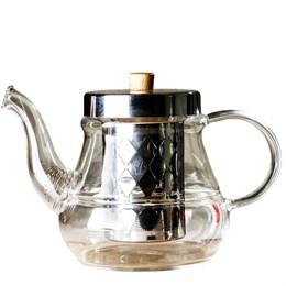 чайник с ситом, стекло, 700 мл - фото 5743