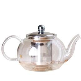 чайник с ситом, стекло, 800 мл - фото 5748