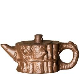 """чайник """"пень"""", глина, 220 мл - фото 5812"""