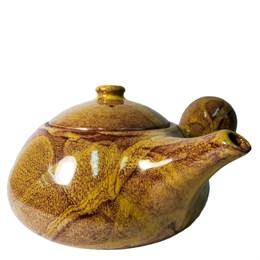 """чайник японский """"Тыква"""", глина, 420 мл - фото 5928"""