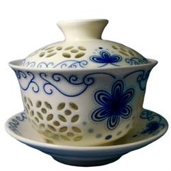 """Гайвань """"Рисовое зерно"""", фарфор - фото 5959"""