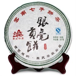 Сью Бай Хао Шен Пуэр, 357 гр, 2015 г. - фото 6189