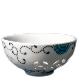Пиала с декором в виде рисового зерна, фарфор