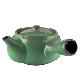 "чайник японский ""Изумруд"", глина, 370 мл - фото 6653"