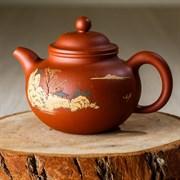 чайник #17, глина, 150 мл