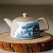 чайник #19, глина, 130 мл