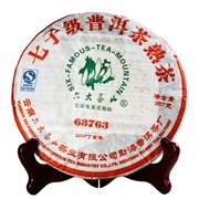 Лю Да Ча Шань шу пуэр 63763 2007 г. 357 гр.
