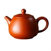 мастеровой чайник ручной работы, красная глина, 220 мл, Тайвань