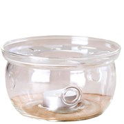 подставка со свечой под чайник, стекло