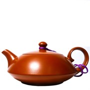 Чайник исинский ручной работы, глина, 90 мл