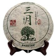 Манчжуань Шань Гу Шу шен пуэр (Фу Юань Чан, 2013 г), 357 гр
